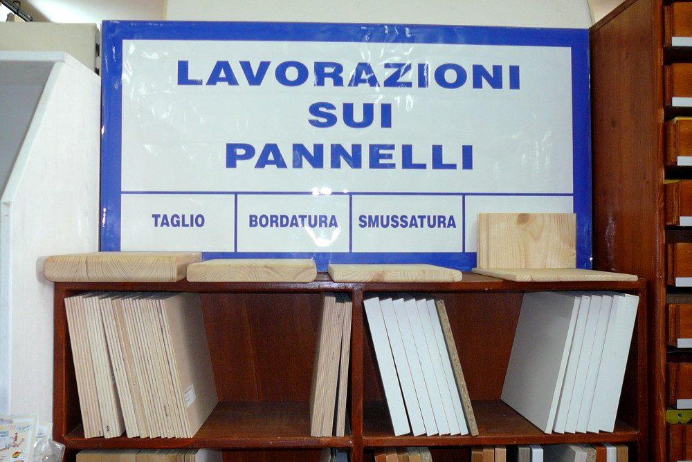 Lavorazione Pannelli