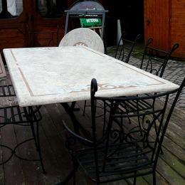 Set Tavolo Rodi con 6 sedie