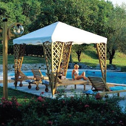 Gazebo JOLLY con Set Birreria