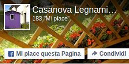 Pagina Facebook Casanova Legnami